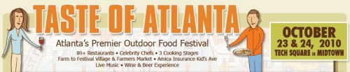 Taste of Atlanta Returns with The Meal Makeover Moms, Farm to Festival Village and Go-Green Village