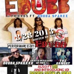Interview: EDUBB- Performing @ Smith's Olde Bar with Bubba Sparxxx August 28th!