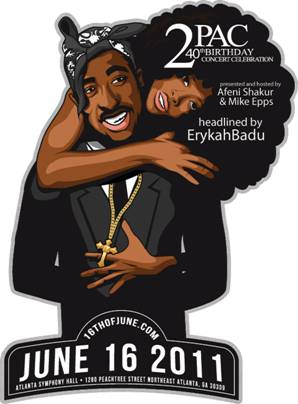"Tupac Amaru Shakur Foundation Announces ""2Pac 40th Birthday Celebration"""